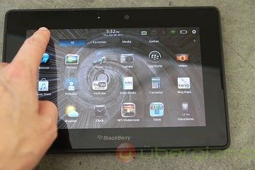 Test BlackBerry Playbook
