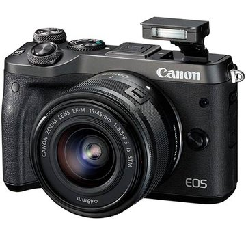 Canon EOS M6 Review : List of Ratings, Pros and Cons