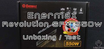 Test Enermax Revolution SFX 550w